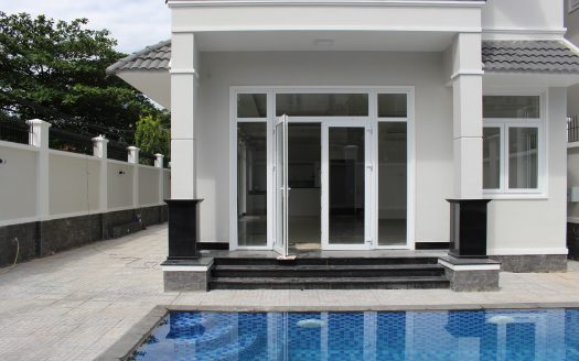 Nice little contemporary house for lease in An Phu