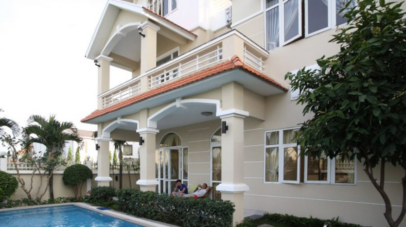 Modern villa for rent in Thao Dien District 2 HCMC