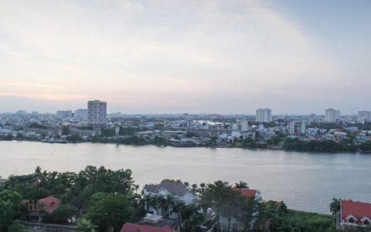 River Garden view