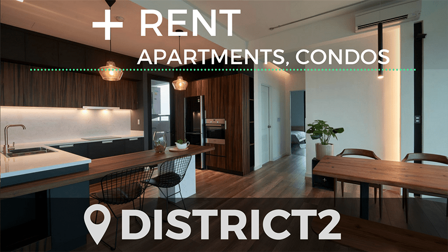 Apartment for rent in Thao Dien and An Phu district 2 Ho Chi Minh City