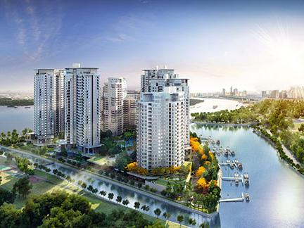 Diamond Island Apartments for rent in Ho Chi Minh City