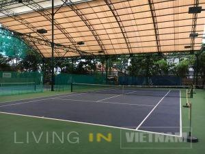 An Phu compound Tennis court