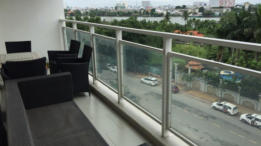 River Garden Apartment for rent Thao Dien