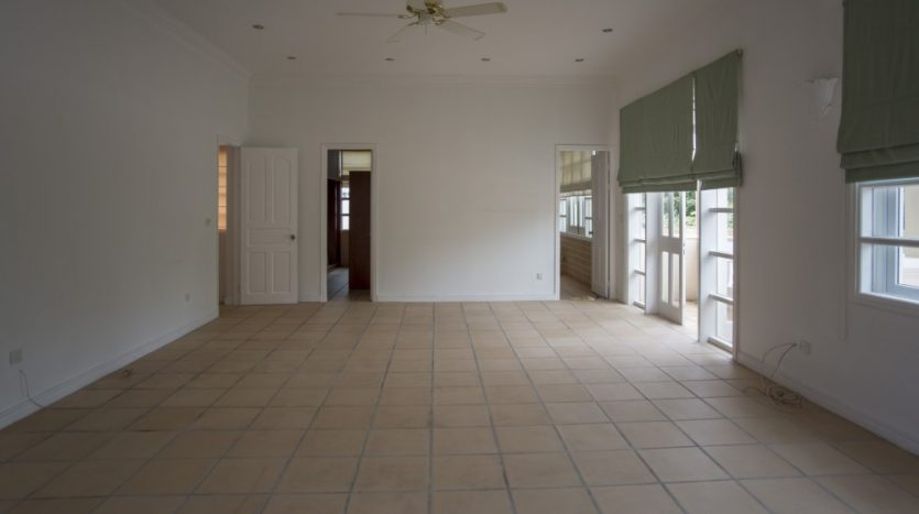 House with garden and swimming pool in compound for rent in ho Chi Minh City