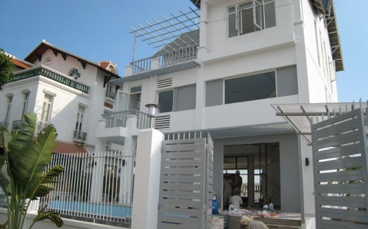 Modern villa for rent in thao dien compound 2