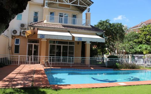 villa in compound for rent in Thao Dien, Saigon, district 2