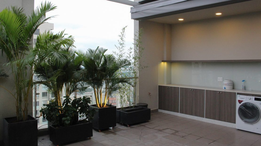 Masteri Thao Dien Apartment for rent with terrace - 3 bedroom 150m2