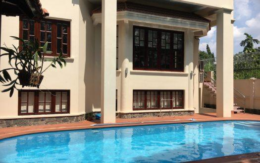 ID: 1071 | Villa with garden and pool in compound in Thao Dien 1