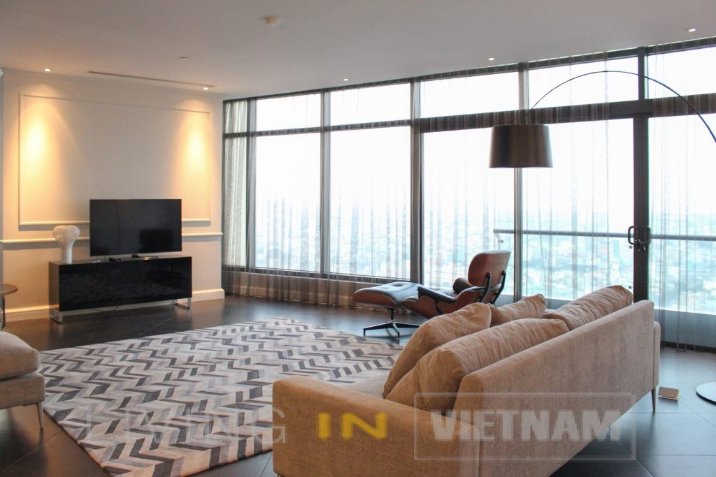 Duplex Penthouse Apartment For Rent in Ho Chi Minh City