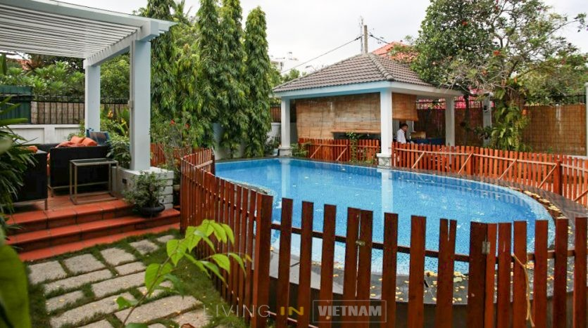 Modern Villa For Rent in Compound in District 2 HCMC