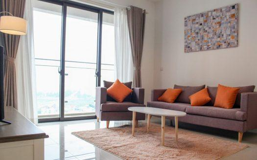 ID: 480 | Estella Heights for rent | 2-bedroom available | Fully furnished condo on high floor 3