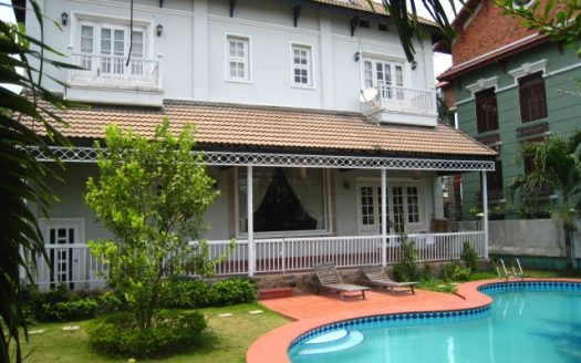 Villa for rent in Thao Dien