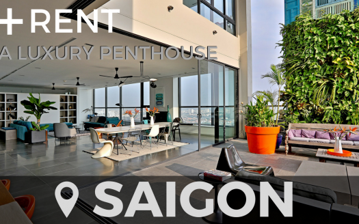Penthouse for rent in Saigon