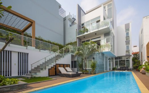 Luxury house for rent in Phu My Hung