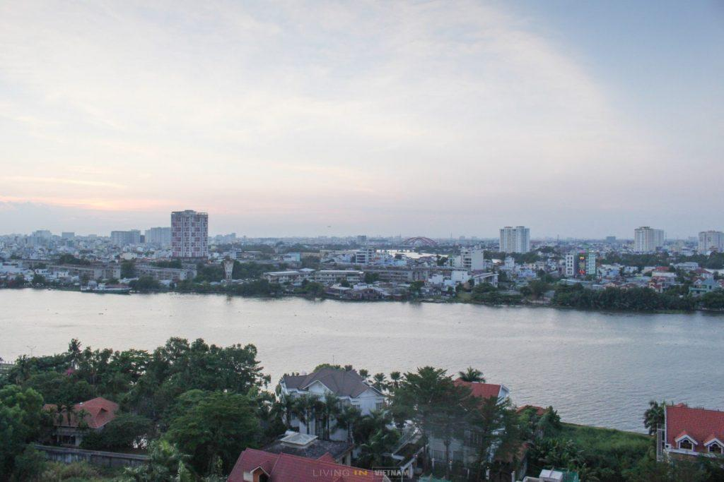 River Garden apartment with view in Ho Chi Minh City