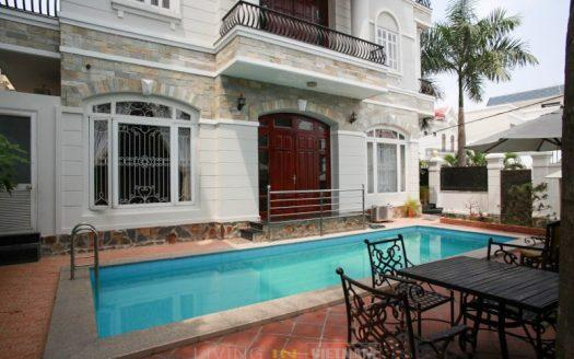 ID: 871 | Modern house with private pool for rent near An Phu Supermarket | 5 Bedroom 1