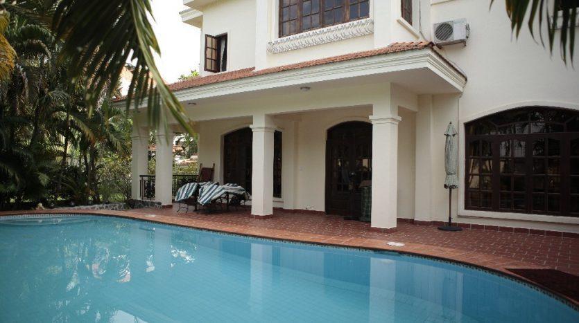 Villa for lease in Thao Dien