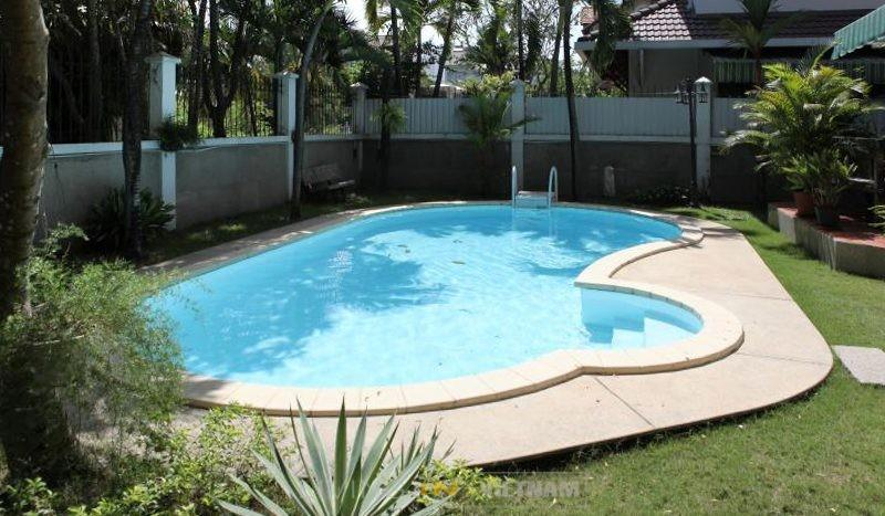 Villa for lease in Thao Dien with private pool