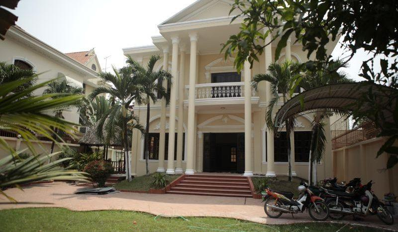 Villa for rent in Thao Dien, District 2, HCMC