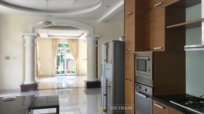 House for lease in Thao Dien close to An Phu supermarket