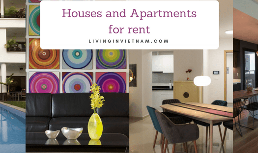 Houses and apartments for rent in Ho Chi Minh City