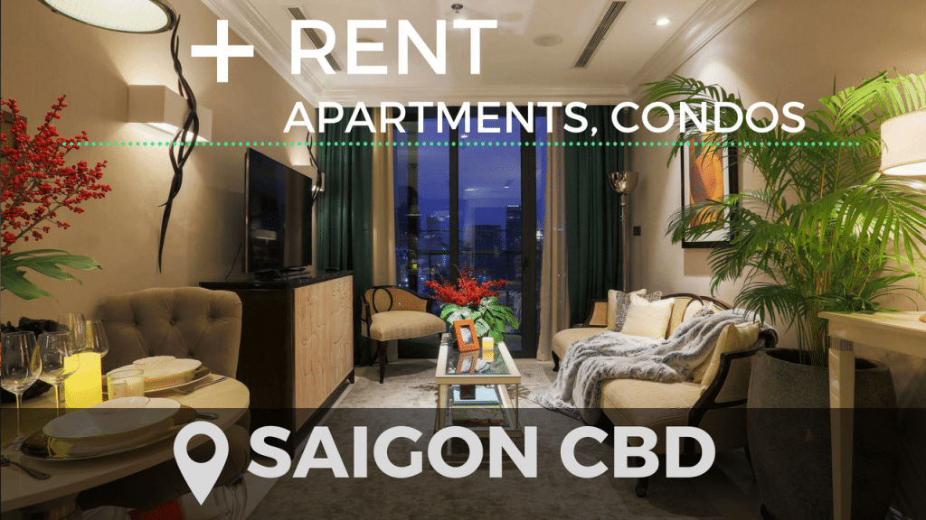 Apartment for rent in district 1 Saigon