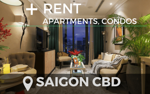 Apartment for rent in District 1, CBD and nearby – Ho Chi Minh City