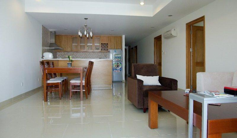 Furnished apartment for rent in Saigon