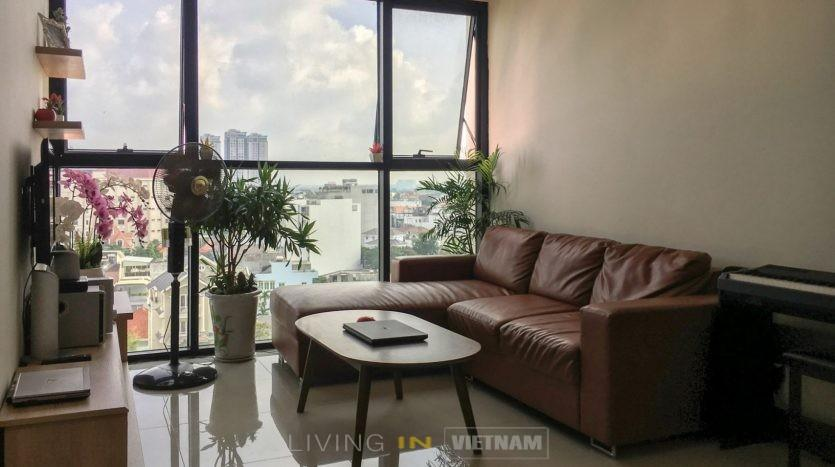 Furnished flat at the Ascent Thao Dien, swimming pool