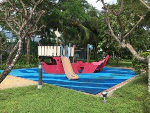 Villa Riviera compound kid play area