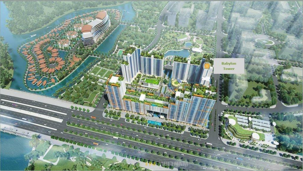 Babylon tower- New City District 2 HCMC