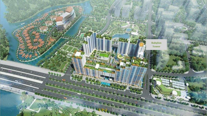 Babylon tower- New City District 2 HCMC