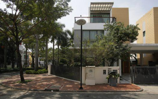 villa riviera compound HCMC District 2- House for rent