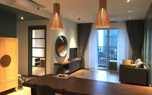 Very modern furnished 2-bedroom apartment in District 2 Saigon