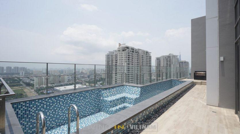 Luxury penthouse in Saigon: The Nassim