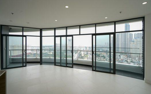 ID: 1646 | City Garden condo for lease in Saigon:  Unfurnished 2-BR 2