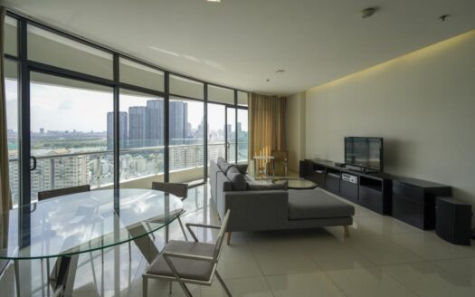 Furnished flat for rent at City Garden with view