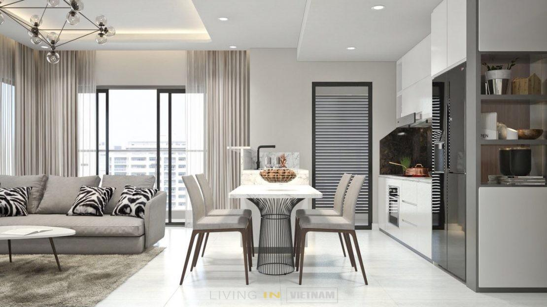 Furnished apartment in Ho Chi Minh City
