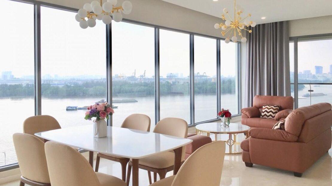 Ho Chi Minh City luxury flat in Diamond Island