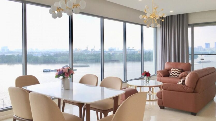Ho Chi Minh City luxury flat in Diamond Island