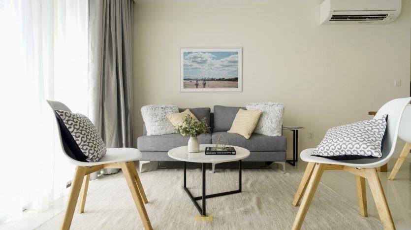 Masteri Millennium 3-bedroom flat for rent