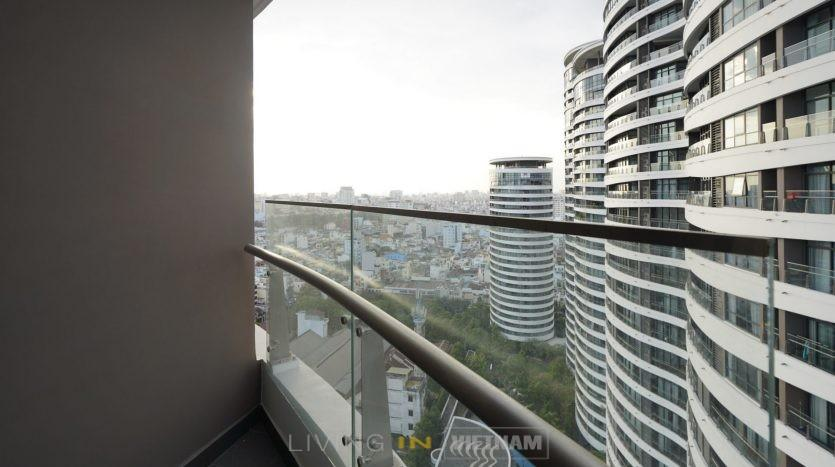 City Garden apartment with panoramic view of Saigon