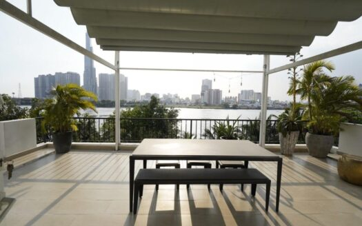 ID: 849 | Cozy 4-BR house by the river for rent in District 2 2