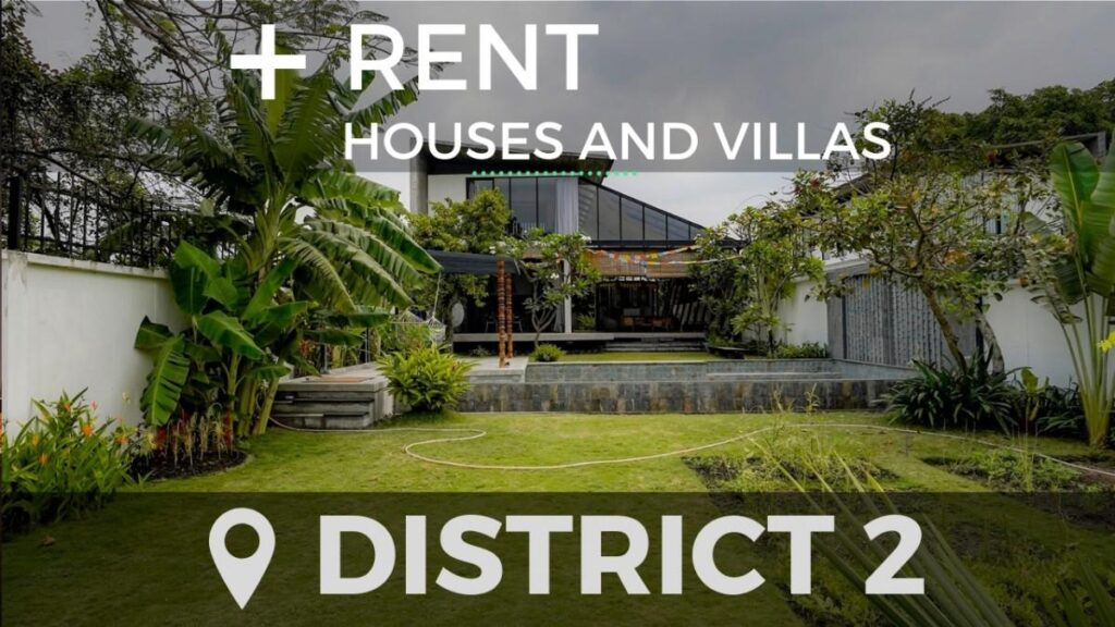 Houses in district 2 for rent