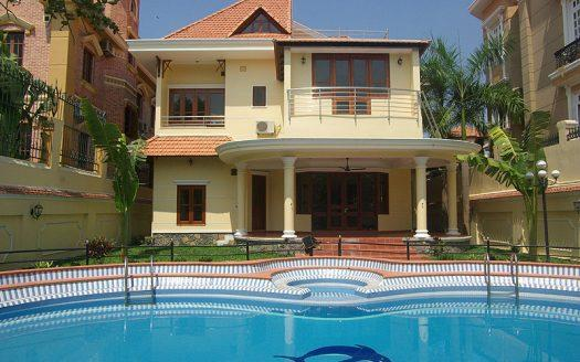 ID: 1275 | 4-Bedroom house for rent in Thao Dien district 2 4