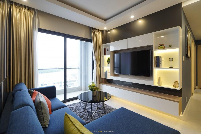 Ho Chi Minh City 3 Br Apartment New City