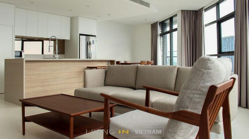 City Garden 3 bedroom apartment Saigon