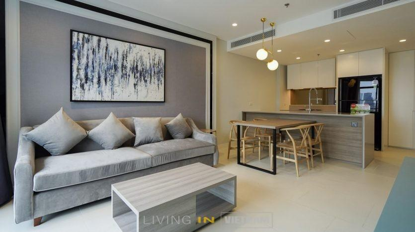 1 bedroom apartment City Garden HCMC