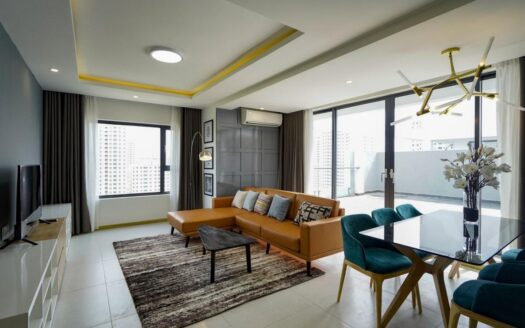 New City apartment with terrace