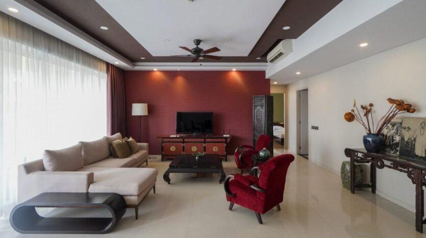 Saigon Apartment   The Estella   3 bedrooms   Furnished
